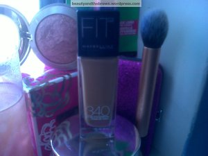 Maybelline FitMe Foundation in 340