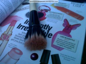 A stippling brush is a great multipurpose product to invest in