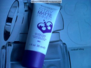 Rimmel Stay Matte primer retails for about 7CDN in Shoppers Drug Mart, Rexall and Wal Mart.