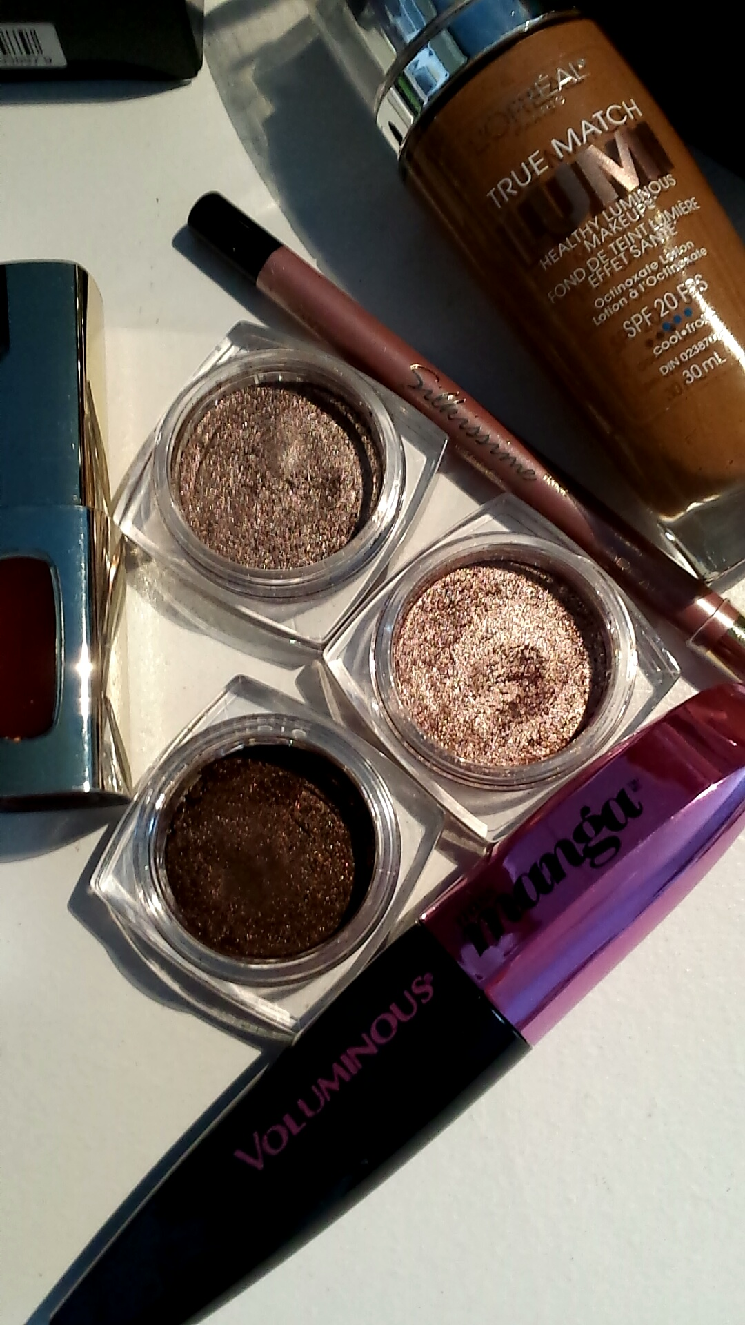 Top to Bottom: Bronzed Taupe, Amber Rush, Endless Chocolate