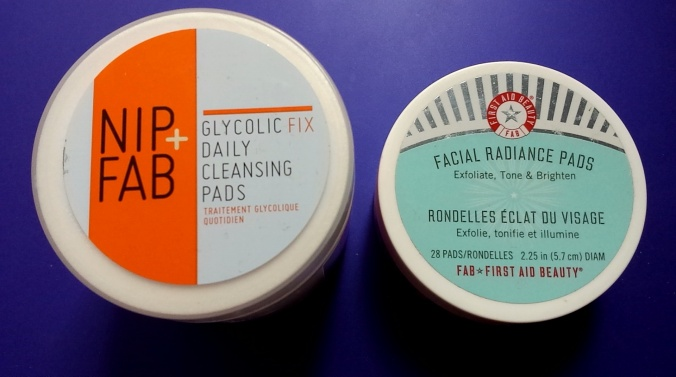 Nip Fab and FAB Glycolic Pads